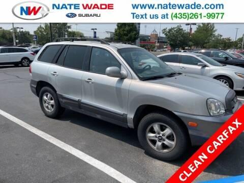 2006 Hyundai Santa Fe for sale at NATE WADE SUBARU in Salt Lake City UT