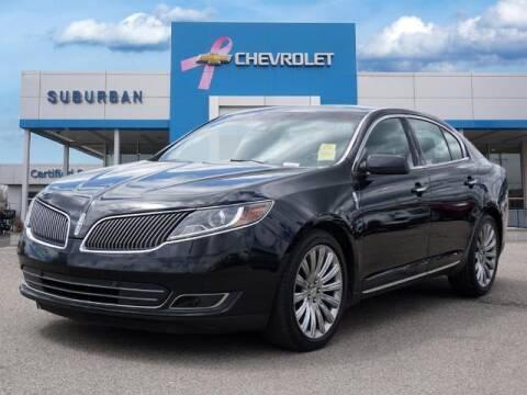 2014 Lincoln MKS for sale at Suburban Chevrolet of Ann Arbor in Ann Arbor MI