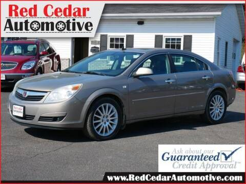 2007 Saturn Aura for sale at Red Cedar Automotive in Menomonie WI