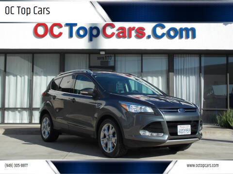 2016 Ford Escape for sale at OC Top Cars in Irvine CA