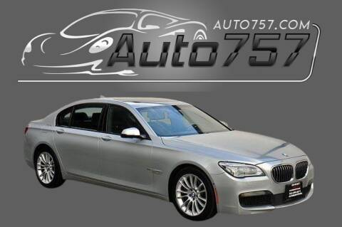 2015 BMW 7 Series for sale at Auto 757 in Norfolk VA