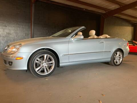2007 Mercedes-Benz CLK for sale at American Classic Car Sales in Sarasota FL