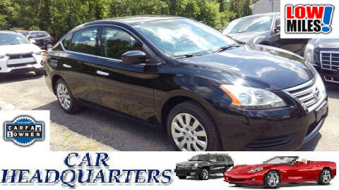2014 Nissan Sentra for sale at CAR  HEADQUARTERS in New Windsor NY