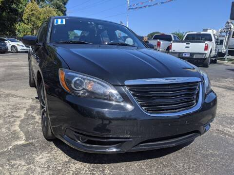 2011 Chrysler 200 for sale at GREAT DEALS ON WHEELS in Michigan City IN