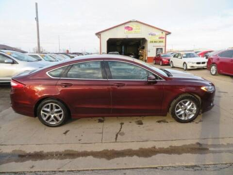 2016 Ford Fusion for sale at Jefferson St Motors in Waterloo IA