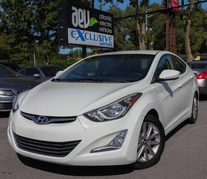 2014 Hyundai Elantra for sale at EXCLUSIVE MOTORS in Virginia Beach VA