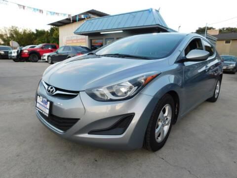 2015 Hyundai Elantra for sale at AMD AUTO in San Antonio TX