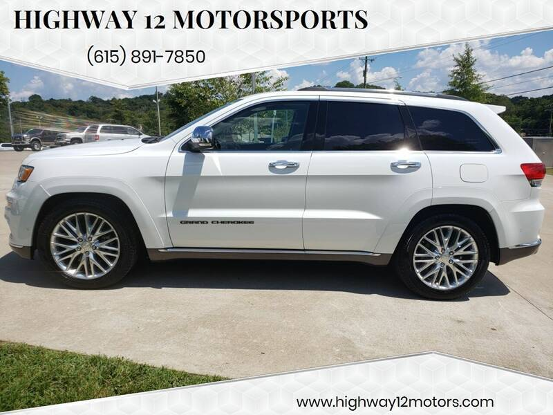2018 Jeep Grand Cherokee for sale at HIGHWAY 12 MOTORSPORTS in Nashville TN