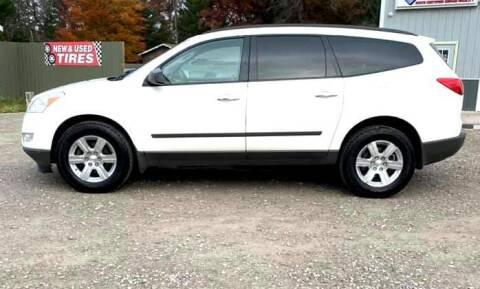 2012 Chevrolet Traverse for sale at Hilltop Auto in Prescott MI