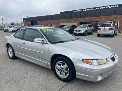 2001 Pontiac Grand Prix for sale at Motor City Auto Auction in Fraser MI