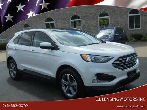 2019 Ford Edge for sale at C.J. Lensing Motors Inc in Decorah IA