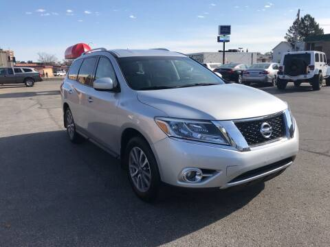 2015 Nissan Pathfinder for sale at Carney Auto Sales in Austin MN