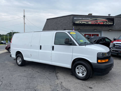 2018 Chevrolet Express Cargo for sale at Maple Street Auto Center in Marlborough MA