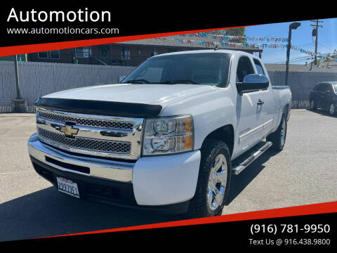 2011 Chevrolet Silverado 1500 for sale at Automotion in Roseville CA