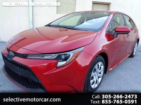 2020 Toyota Corolla for sale at Selective Motor Cars in Miami FL
