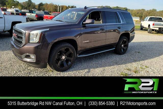 2016 GMC Yukon for sale at Route 21 Auto Sales in Canal Fulton OH