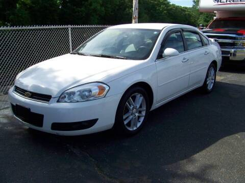 2008 Chevrolet Impala for sale at Collector Car Co in Zanesville OH