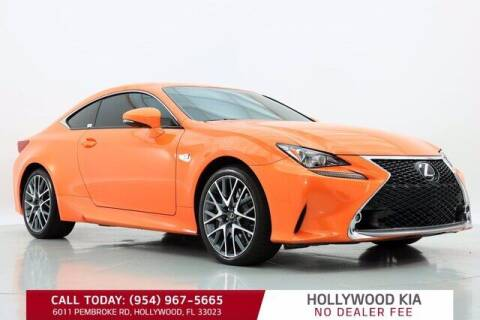 2015 Lexus RC 350 for sale at JumboAutoGroup.com in Hollywood FL