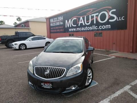 2013 Buick Verano for sale at MC Autos LLC in Pharr TX