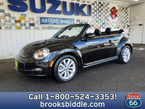 2013 Volkswagen Beetle Convertible for sale at BROOKS BIDDLE AUTOMOTIVE in Bothell WA