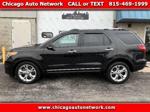 2013 Ford Explorer for sale at Chicago Auto Network in Mokena IL