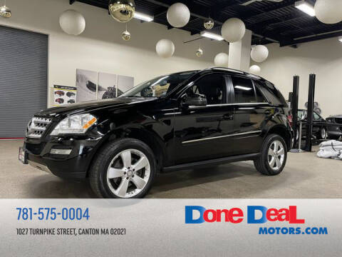 2011 Mercedes-Benz M-Class for sale at DONE DEAL MOTORS in Canton MA