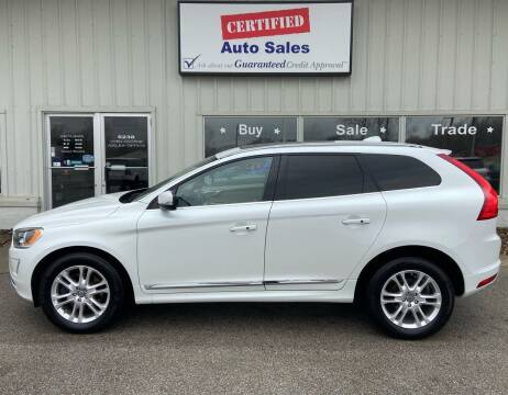 2015 Volvo XC60 for sale at Certified Auto Sales in Des Moines IA