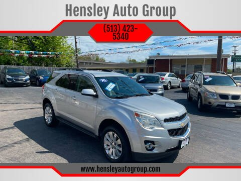 2010 Chevrolet Equinox for sale at Hensley Auto Group in Middletown OH