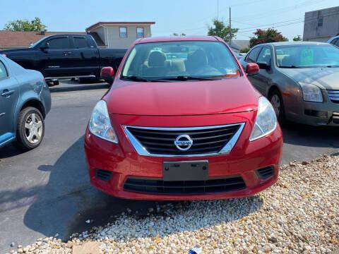2014 Nissan Versa for sale at Diamond Auto Sales in Pleasantville NJ