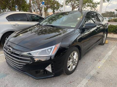 2019 Hyundai Elantra for sale at DORAL HYUNDAI in Doral FL