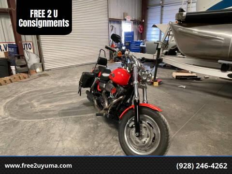 2012 Harley Davidson Fat Bob for sale at FREE 2 U Consignments in Yuma AZ