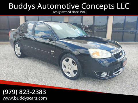 2006 Chevrolet Malibu for sale at Buddys Automotive Concepts LLC in Bryan TX