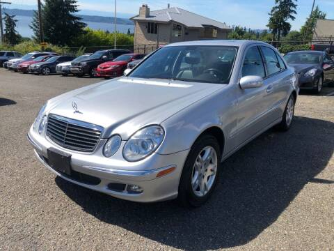 2004 Mercedes-Benz E-Class for sale at KARMA AUTO SALES in Federal Way WA