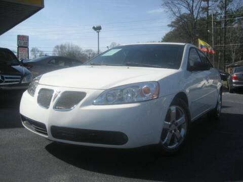 2007 Pontiac G6 for sale at Roswell Auto Imports in Austell GA