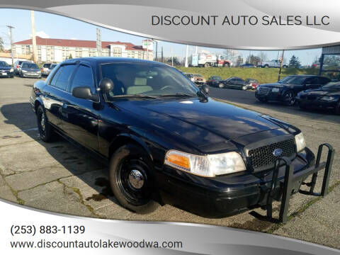 2011 Ford Crown Victoria for sale at DISCOUNT AUTO SALES LLC in Spanaway WA