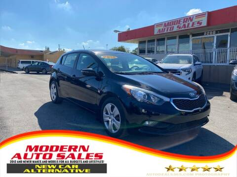 2016 Kia Forte5 for sale at Modern Auto Sales in Hollywood FL