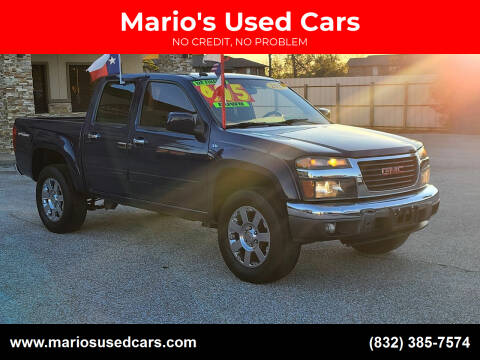 2012 GMC Canyon for sale at Mario's Used Cars - Pasadena Location in Pasadena TX