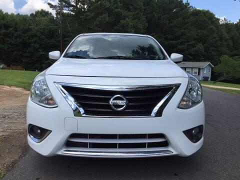 2017 Nissan Versa for sale at ATLANTA AUTO WAY in Duluth GA