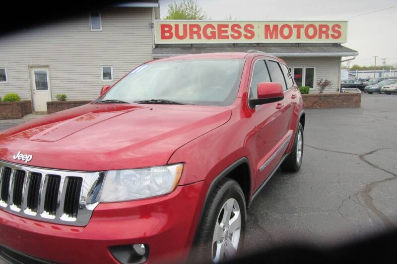2011 Jeep Grand Cherokee for sale at Burgess Motors Inc in Michigan City IN