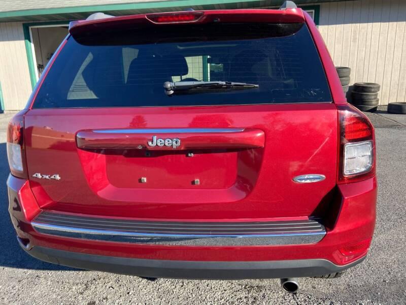 2017 Jeep Compass 4x4 High Altitude 4dr SUV - Oswego NY