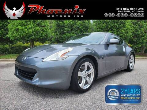 2012 Nissan 370Z for sale at Phoenix Motors Inc in Raleigh NC
