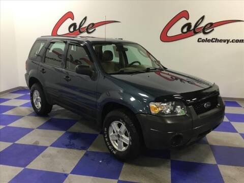 2006 Ford Escape for sale at Cole Chevy Pre-Owned in Bluefield WV