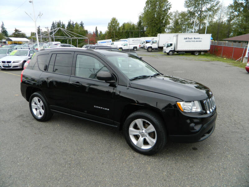 2012 Jeep Compass for sale at J & R Motorsports in Lynnwood WA