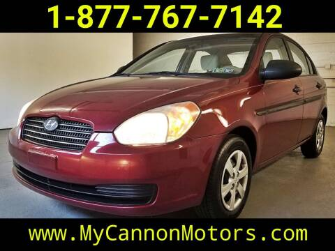 2009 Hyundai Accent for sale at Cannon Motors in Silverdale PA