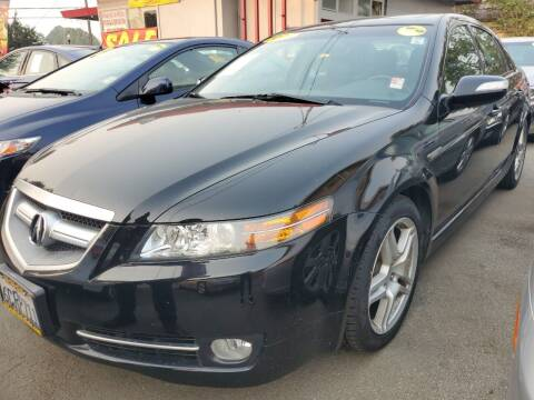 2008 Acura TL for sale at ALL CREDIT AUTO SALES in San Jose CA