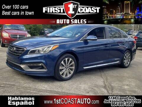2015 Hyundai Sonata for sale at 1st Coast Auto -Cassat Avenue in Jacksonville FL
