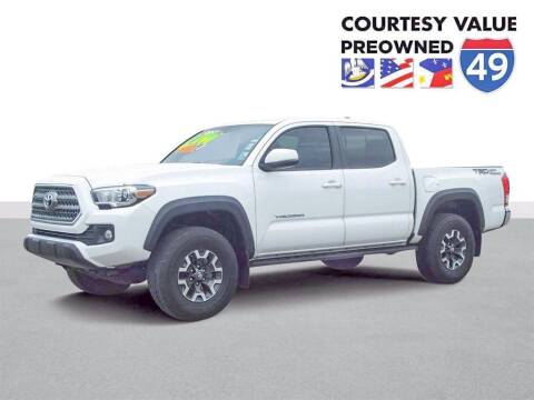 2017 Toyota Tacoma for sale at Courtesy Value Pre-Owned I-49 in Lafayette LA