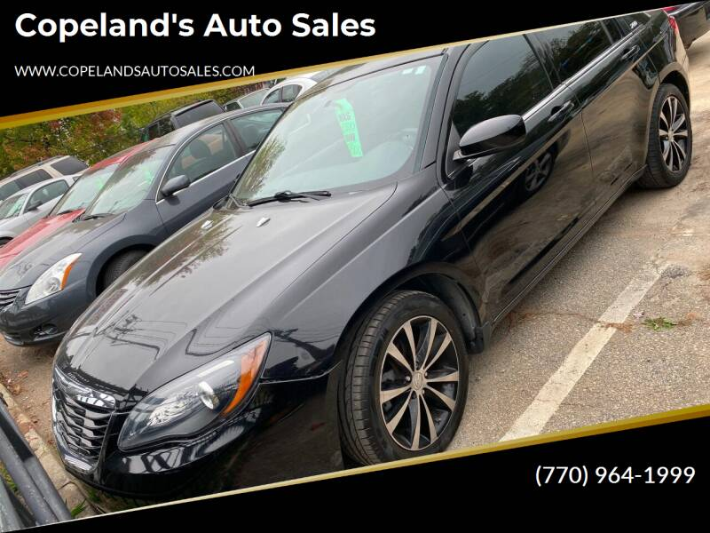 2014 Chrysler 200 for sale at Copeland's Auto Sales in Union City GA