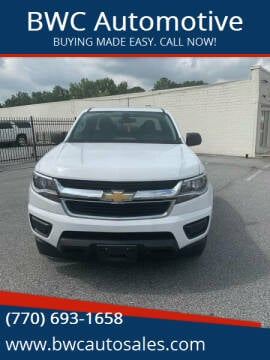 2018 Chevrolet Colorado for sale at BWC Automotive in Kennesaw GA