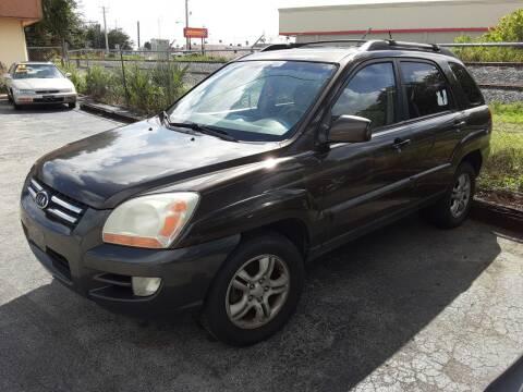 2006 Kia Sportage for sale at Easy Credit Auto Sales in Cocoa FL